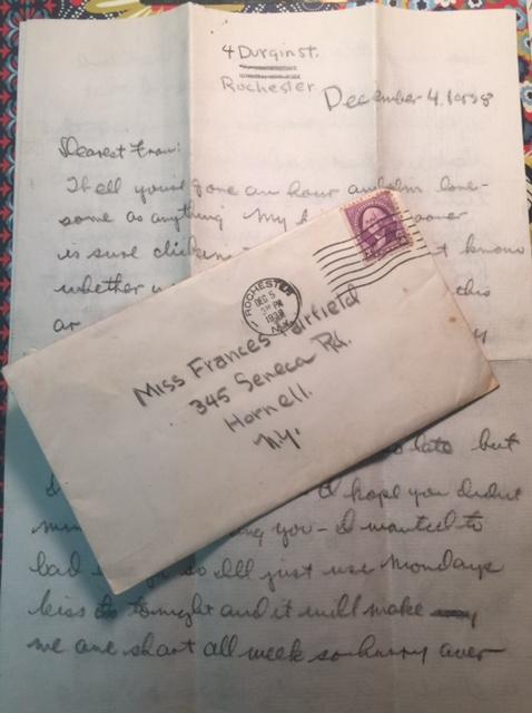 Dearest Fran - Rochester