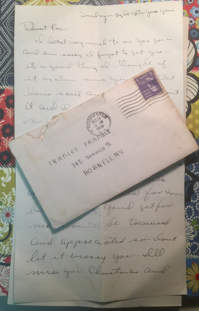 Dearest Fran (Rochester 4)