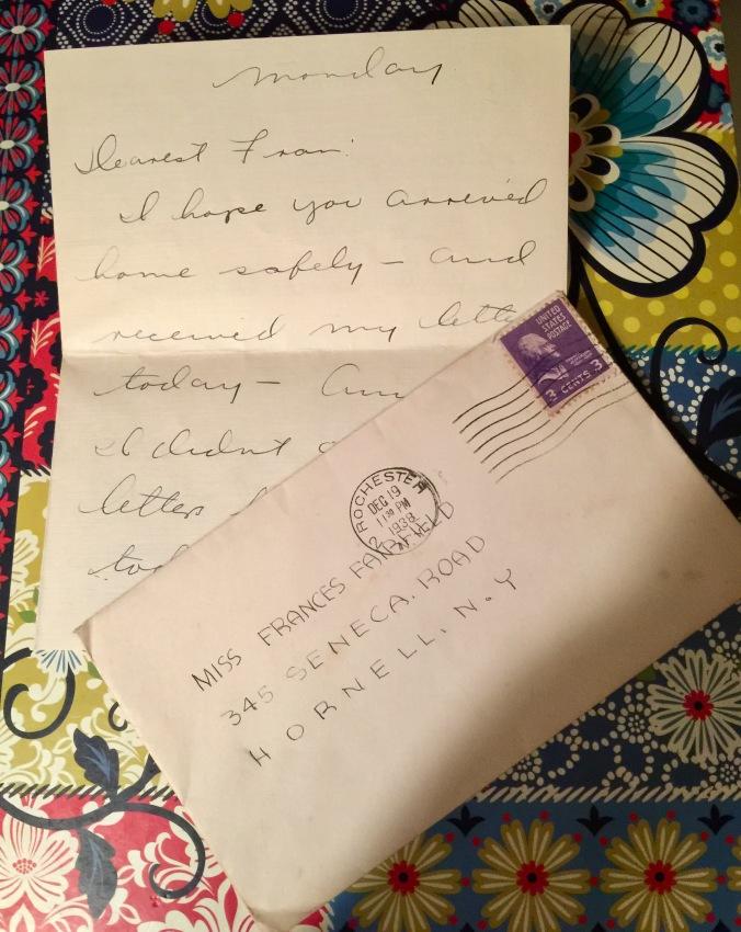 Dearest Fran (Rochester 5)