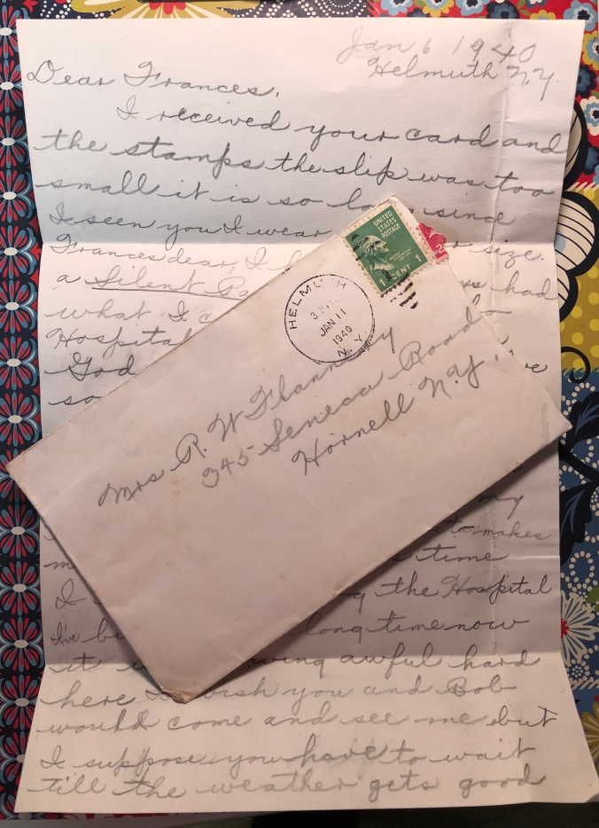 Dear Frances (Her Sister)